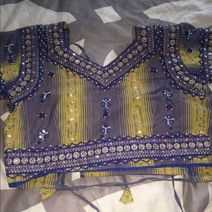 custom made indian cropped top